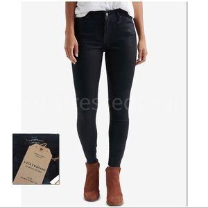 LUCKY | NWT | Ava Coated Skinny Jeans